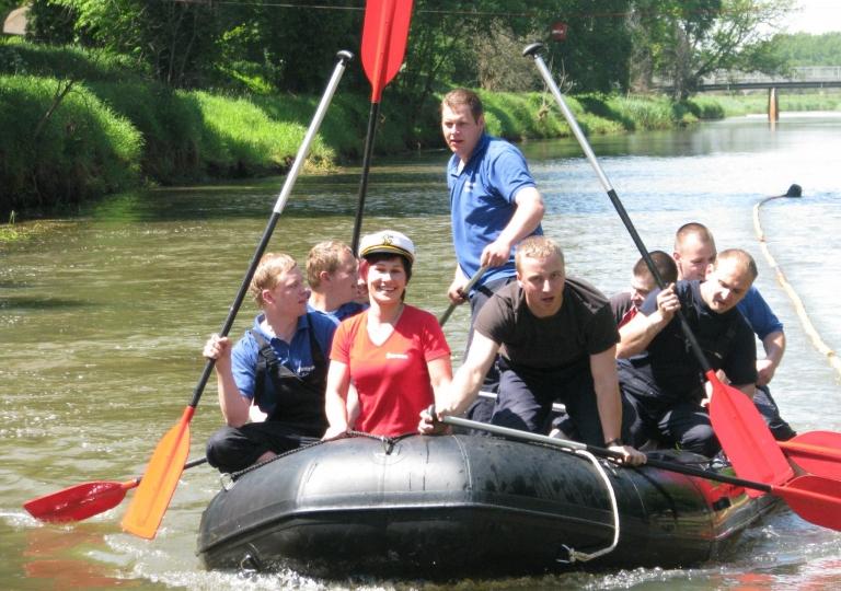 19. Schlauchbootrennen der Feuerwehren (19.05.2012)